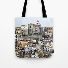 Urban Landscape - Cathedrale - Sicily - Italy Tote Bag