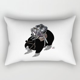 Numero 7 -Cosi che cavalcano Cose - Things that ride Things- Rectangular Pillow