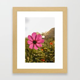 Life's Lessons and a Buttern Churn Framed Art Print
