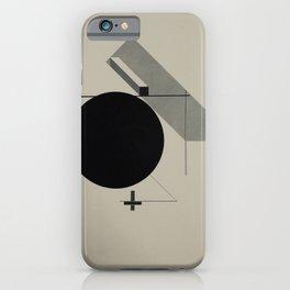 El Lissitzky - Kestnermappe Proun, Rob. Levnis and Chapman GmbH Hannover #5 (1923) iPhone Case