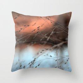evening hush.  Throw Pillow