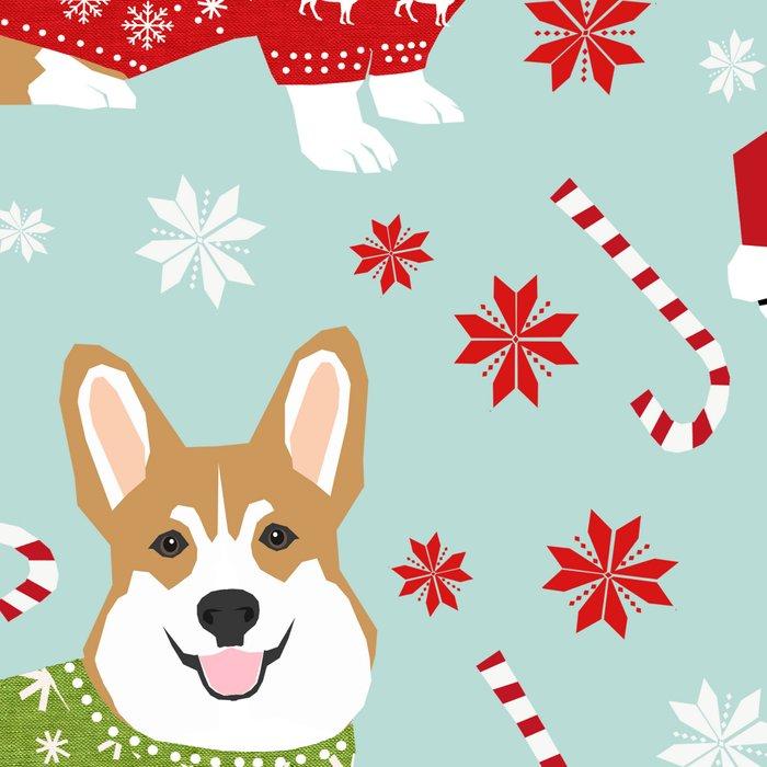 Corgi sweater christmas ugly sweaters dog breed welsh corgis holiday Leggings