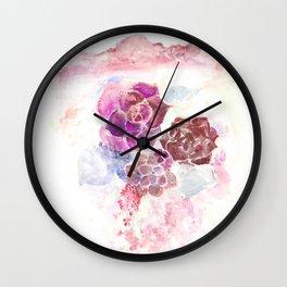 Desert Bloom Wall Clock