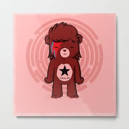 Caring Bowie Metal Print