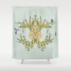 Magic tree Shower Curtain