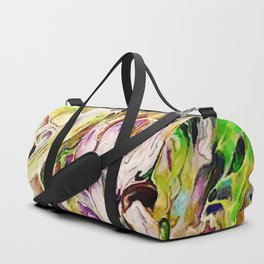 A Delicate Mess Abstract Duffle Bag