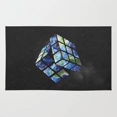 rubik's earth Rug