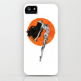 Strength of a woman iPhone Case