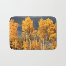 Perfect Golden Autumn Bath Mat