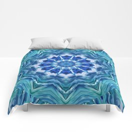 Mandala sea breeze Comforters