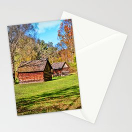 Johnson City Tennessee Cabins Stationery Cards