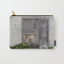 Dilapidated Door Carry-All Pouch