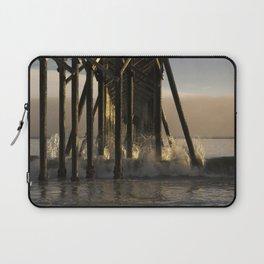 Under the California Pier Laptop Sleeve