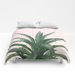 Cactus Photography Pink Comforters