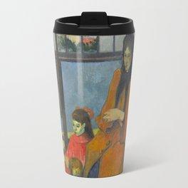 Schuffenecker Family by Paul Gaugin Travel Mug