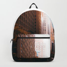 Cityscape Line (Color) Backpack