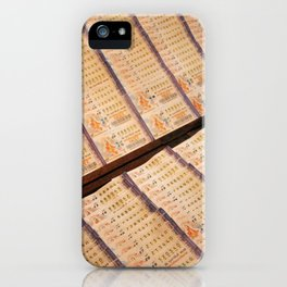 Thai Lottery iPhone Case
