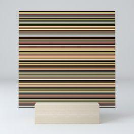 Old Skool Stripes - The Dark Side - Horizontal Mini Art Print