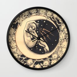 Conjuring the Elements Wall Clock