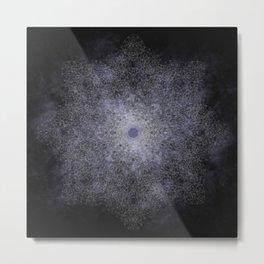 polygon mandala 01 // space Metal Print