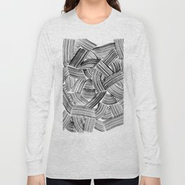 Tangled Brushstrokes Long Sleeve T-shirt