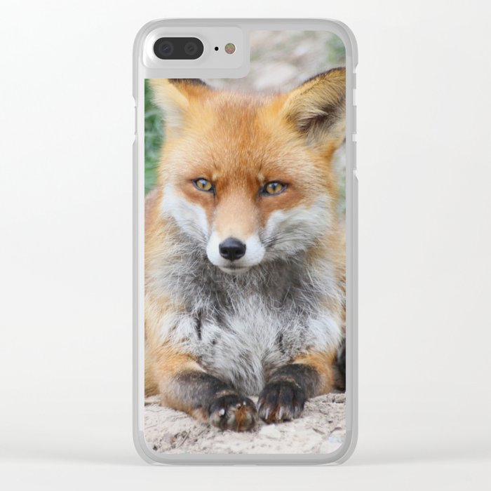 Fox_20141201_by_JAMFoto Clear iPhone Case