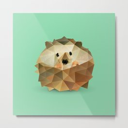 Hedgehog. Metal Print