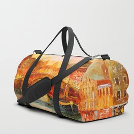 In the evening in Amsterdam Duffle Bag