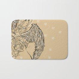 Winter Goddess Bath Mat