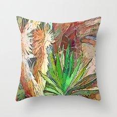 Desert Heat Throw Pillow