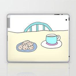 Hot beverage and cookies Laptop & iPad Skin