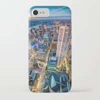 sydney iPhone & iPod Cases featuring Sydney by Gareth Cooper