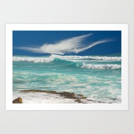 Wild Atlantic Art Print