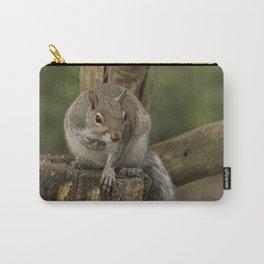 Woodland wildlife grey squirrel Carry-All Pouch