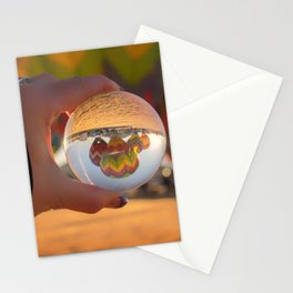 A Clearer View refraction photgraphy hot air balloons Stationery Cards