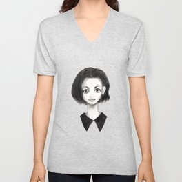 The Girl Unisex V-Neck