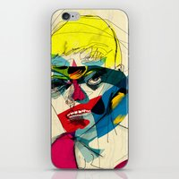 kandinsky iPhone & iPod Skins featuring 041112 by Alvaro Tapia Hidalgo