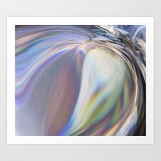 Wave Of Emotion Art Print