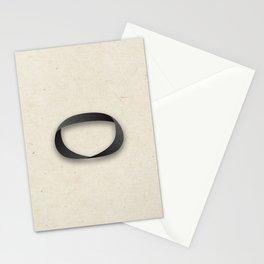 Möbius strip Stationery Cards