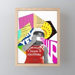 Yes Framed Mini Art Print
