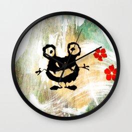 Crazy little Monster Wall Clock