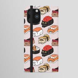 Sushi Persian Cat iPhone Wallet Case