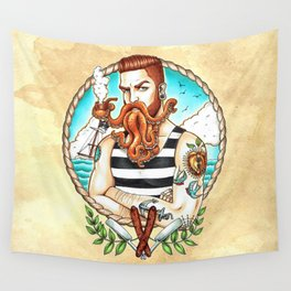 Davey Jones Wall Tapestry
