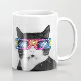 Laser Cat Coffee Mug