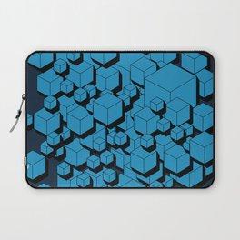 3D Futuristic Cubes VIII Laptop Sleeve