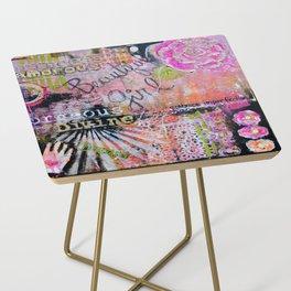 Beautiful Girl Side Table