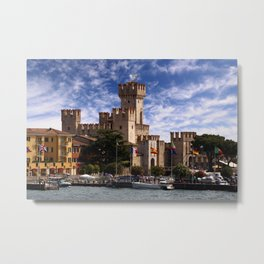 Scaliger Castle Metal Print