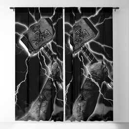 THOR'S HAMMER Blackout Curtain
