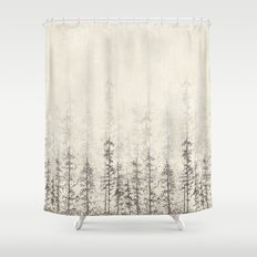 Forest Home Shower Curtain