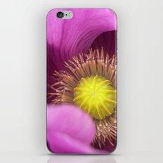poppy macro iPhone & iPod Skin